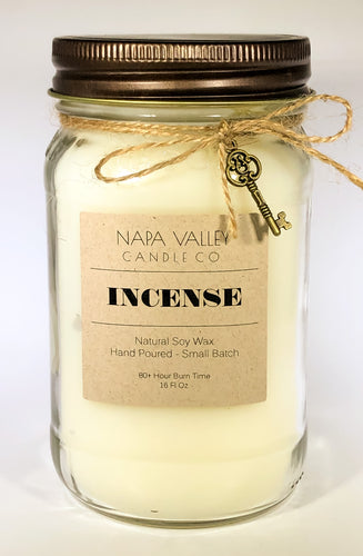 Incense 16oz. Candle