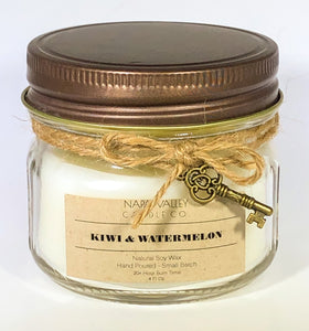Kiwi & Watermelon 4oz. Candle