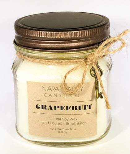 Grapefruit 8oz. Candle