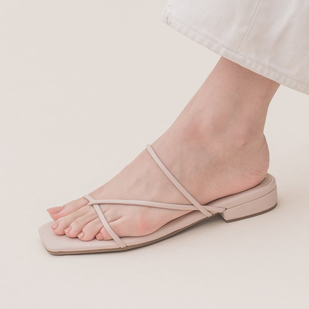 Shania Biscotti Sandals HUE
