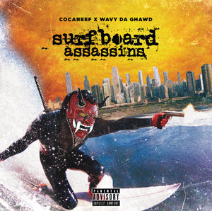 Limited Edition CASSETTE - Surfboard Assassins  (Only 50)