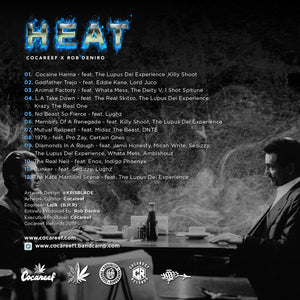 ( OBI ) Compact Disc Limited Edition   - HEAT (Only 40)