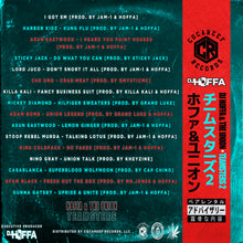 * DJ Hoffa & The Union - Teamsters 2  (OBI VINYL) + (CD)