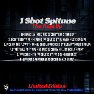 * 1 Shot Spitune  - The Tune Up (VINYL) + (CD)