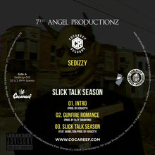 * Sedizzy - Slick Talk Season (VINYL) + (CD)