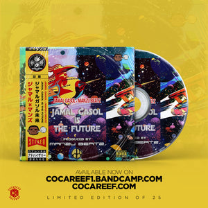 * Jamal Gasol x Manzu Beatz - Jamal is the Future  (OBI VINYL) + (CD)
