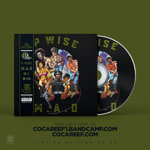 * P - Wise - M.A.D (OBI VINYL) + (CD)