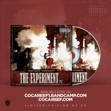 * Frank Grimes x TheRealSkitso - The Experiment PT.2  (CD)
