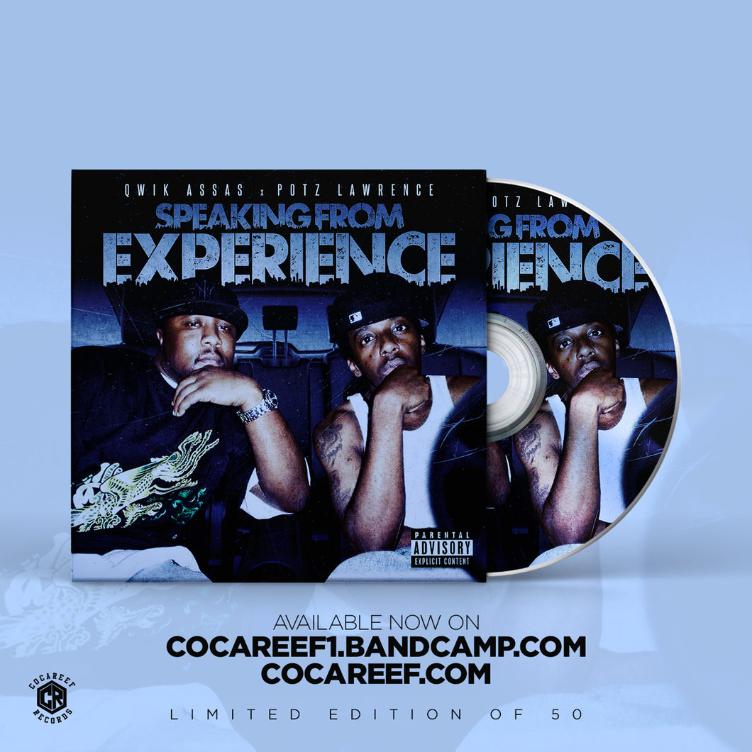 * Qwik Assas x Potz Lawrence - Speaking from Experience  (CD)