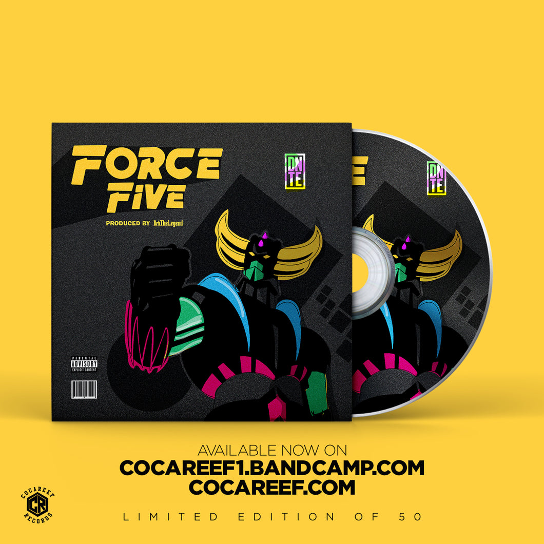 * DNTE - Force Five (CD)
