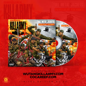"* Killarmy - Full Metal Jackets  OBI 12"" Vinyl + (2 CD set) Limited Edition CD + OB I version"