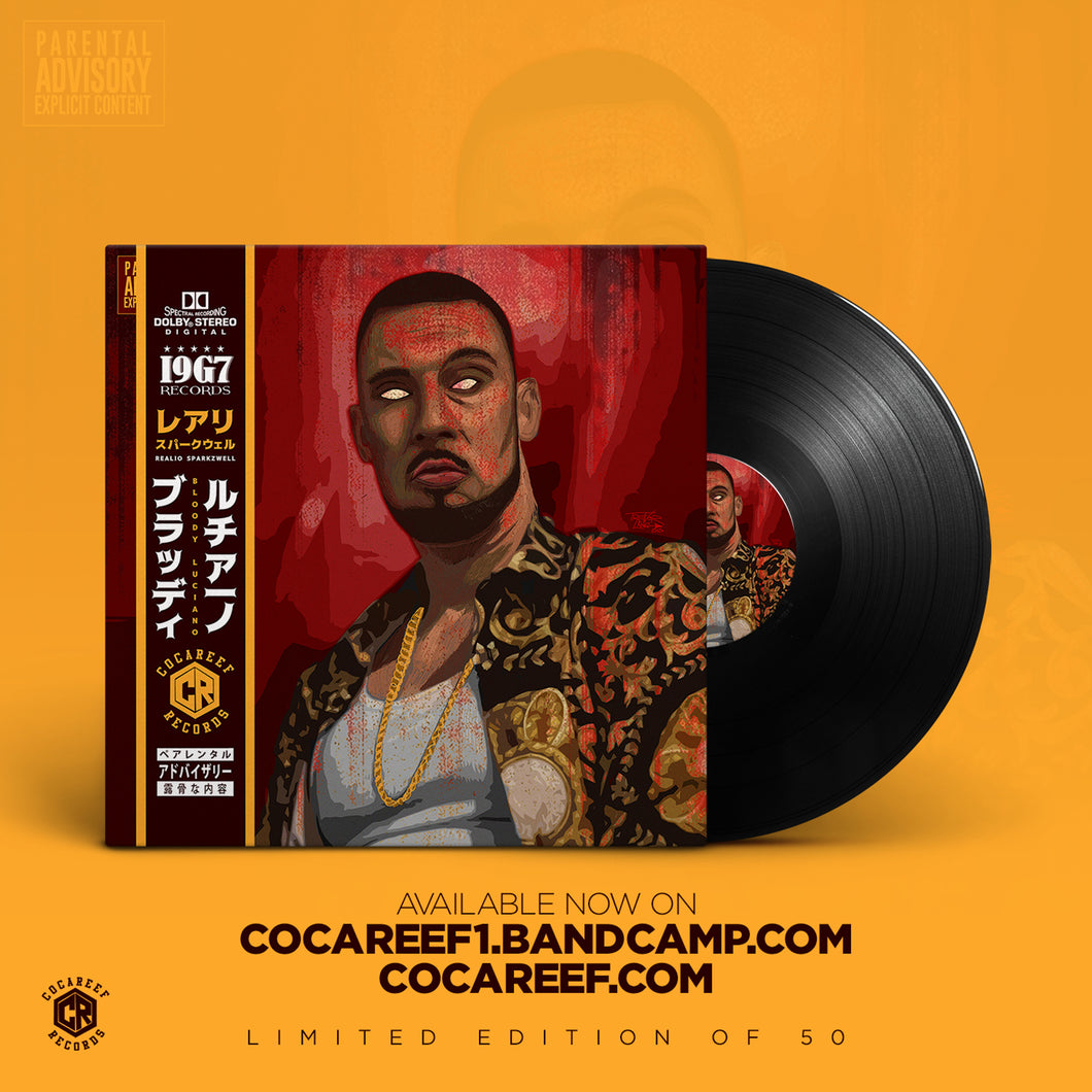 * Realio Sparkzwell - Bloody Luciano (OBI VINYL) + (CD)