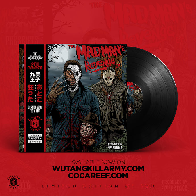 * 9th Prince (of Killarmy) - The Madman's Revenge (VINYL) + (CD)