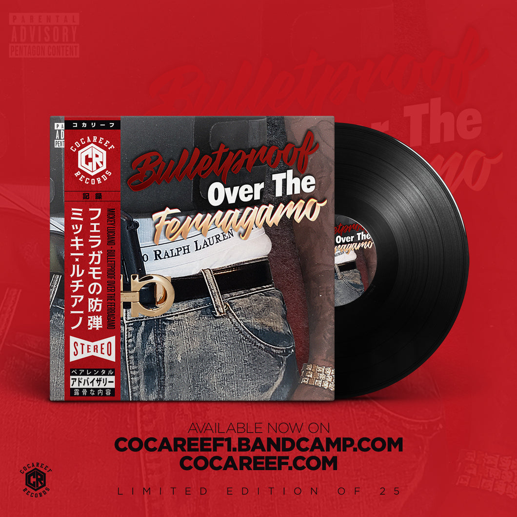 * Mickey Luciano - Bulletproof Over The Ferragamo (OBI VINYL) + (CD)
