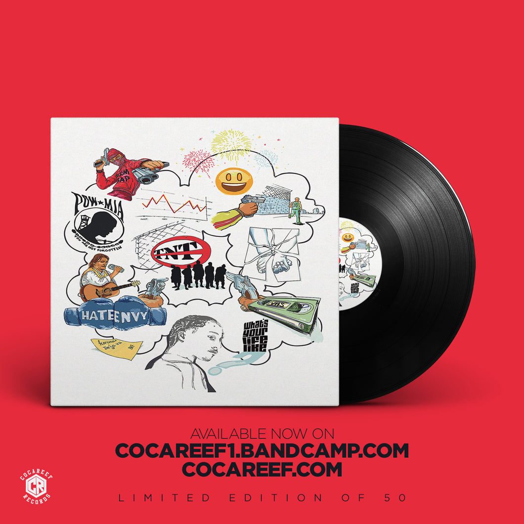 * Random Thoughts of One Mind - Cocareef  ( Vinyl ) + (CD)