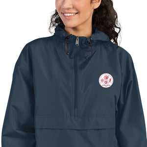 332# Embroidered Champion Packable Jacket