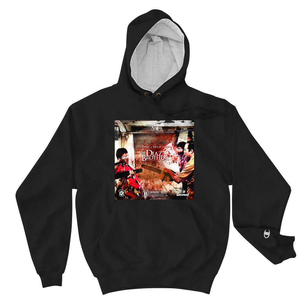 Diaz Brothers Champion Hoodie + CD + Cassette Bundle
