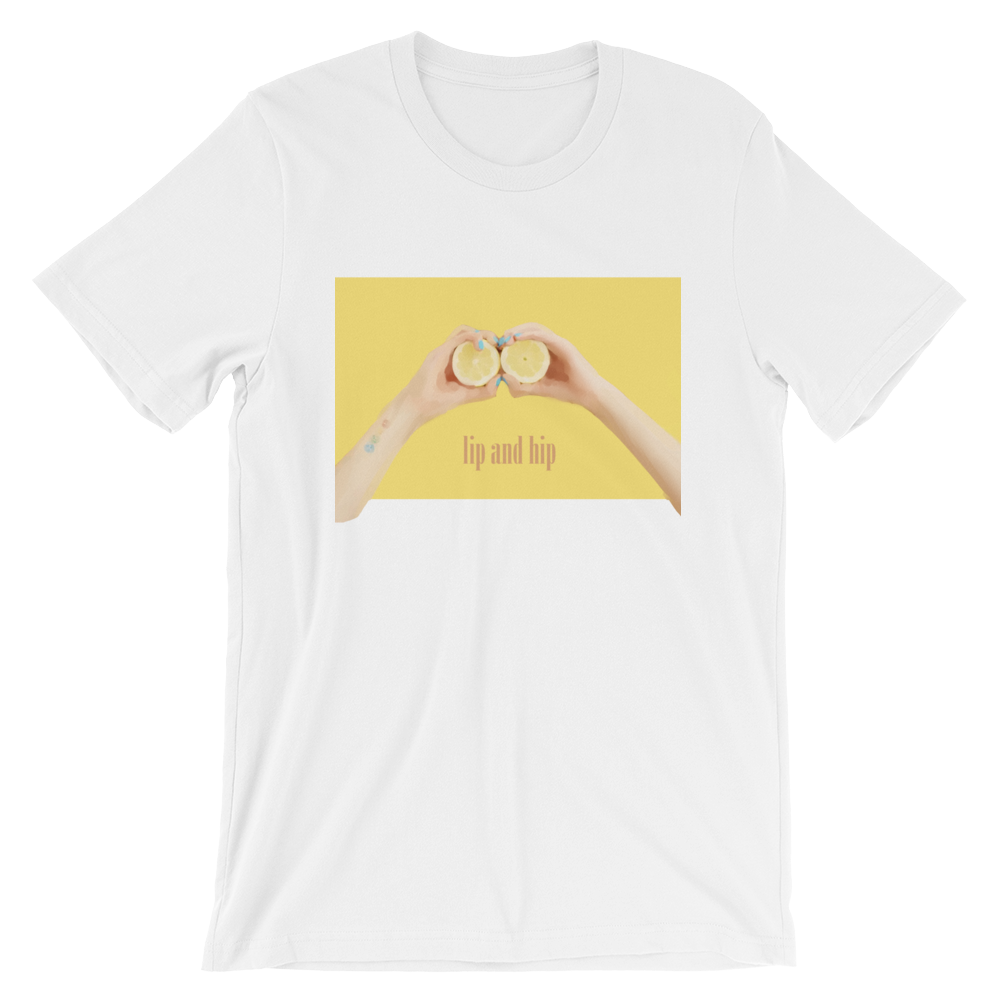 Hyuna Lip and Hip Lemon T-Shirt