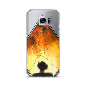 BTS Fake Love Fire Yoongi Samsung Phone Case