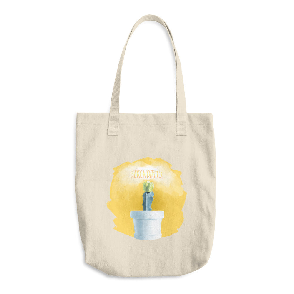 Serendipity Cotton Tote Bag
