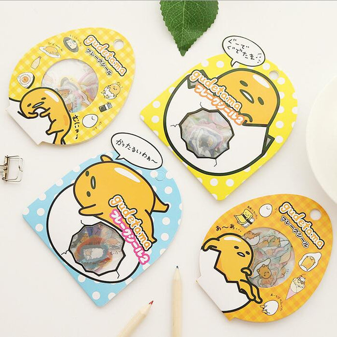 60 pcs/pack Sanrio Gudetama Lazy Egg Stickers