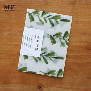 3 pcs/lot Cute Kawaii Flower Sulfuric Acid Paper Envelope