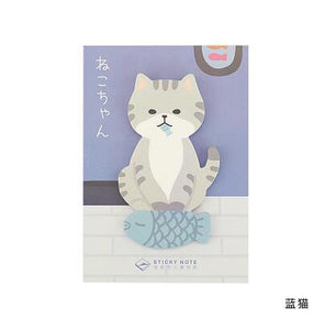 Meow Cat, Hello Dog Memo Pad