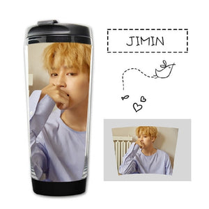 Kpop Glass Water Bottles and Mugs