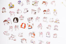 40pcs Sticker Pack Chubby Rabbit Series