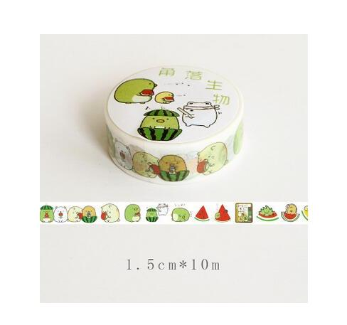 Sumikko Gurashi Watermelon Washi Tape