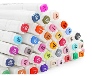Brush Pen Markers with dual head -  100+ Colors to choose from