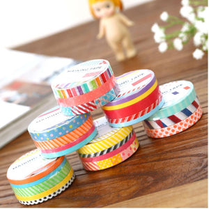3pcs British pattern Kawaii Washi Tape