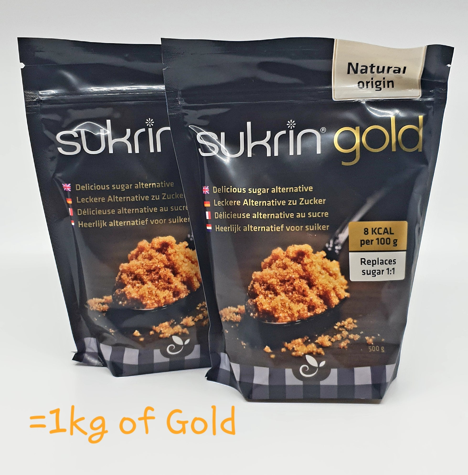 The (1kg) Golden Sugar Pack (2 x Gold Packs)