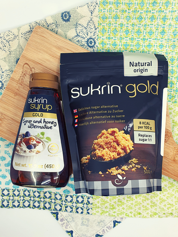 Gold Duo (1 x Sukrin Syrup GOLD & 1 x Sukrin Gold Sugar)