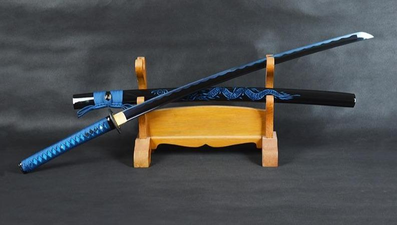 Katana Bleu Dragon