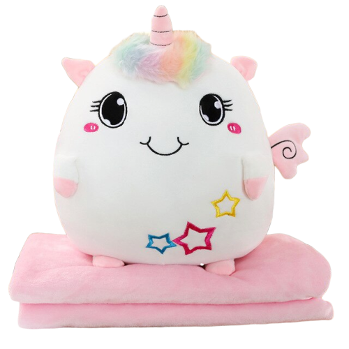 Coussin Transformable en Couverture Kawaii | MJ FRANKO