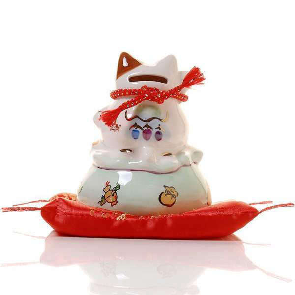 Chat Maneki Neko Tirelire