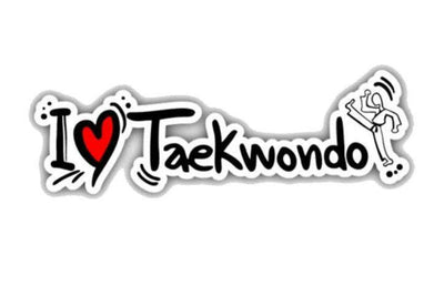 Sticker Voiture Taekwendo | MJ FRANKO