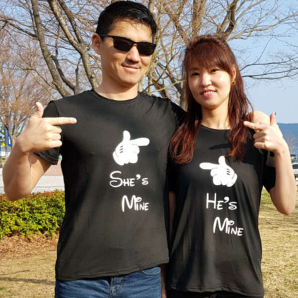 T Shirt Couple Mickey | MJ FRANKO