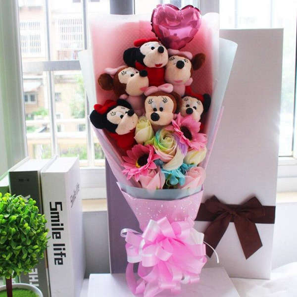 Bouquet Mickey