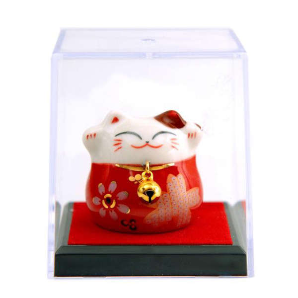 Mini Maneki Neko Tirelire Céramique