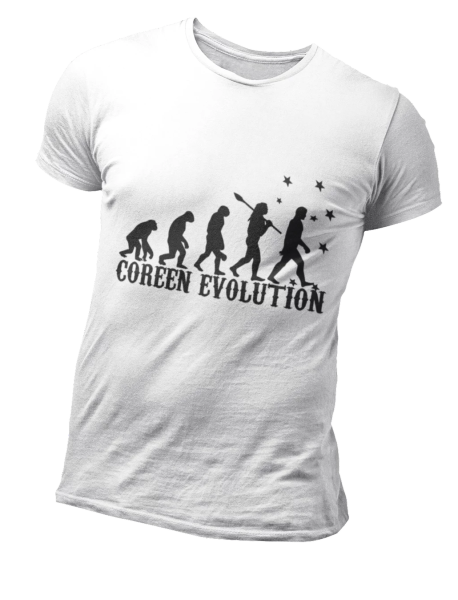 T Shirt Coréen Evolution | MJ FRANKO