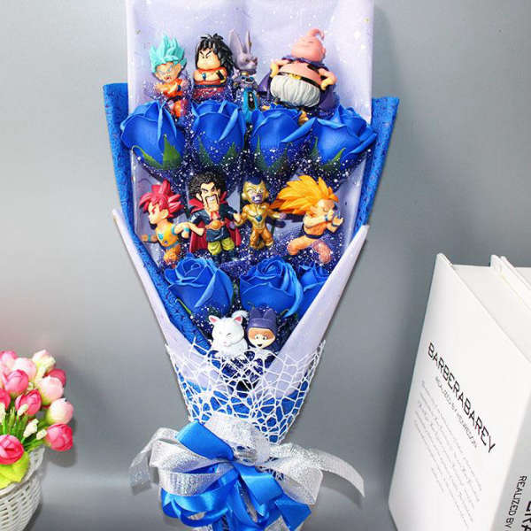 Bouquet de Fleurs Savon Dragon Ball Z | MJ FRANKO