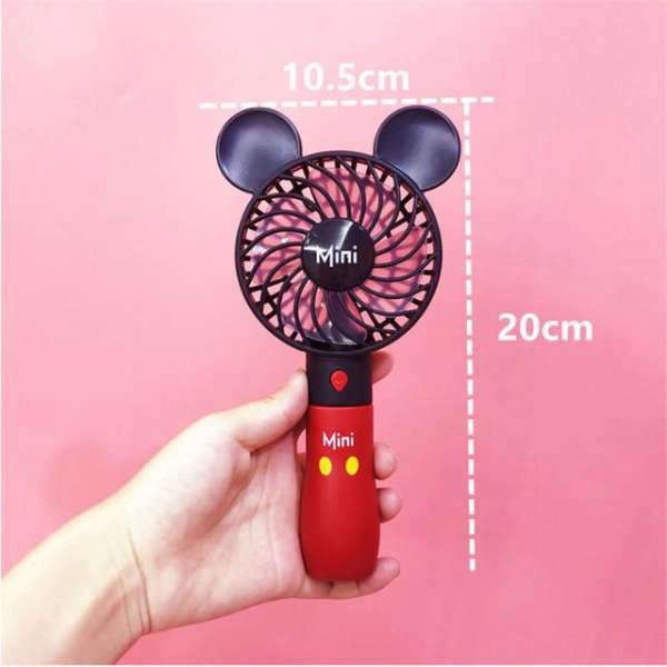 Ventilateur à main Mickey et Minnie | MJ FRANKO