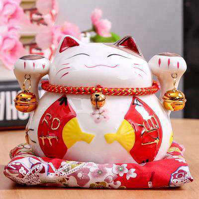 Maneki Neko Tirelire | MJ FRANKO