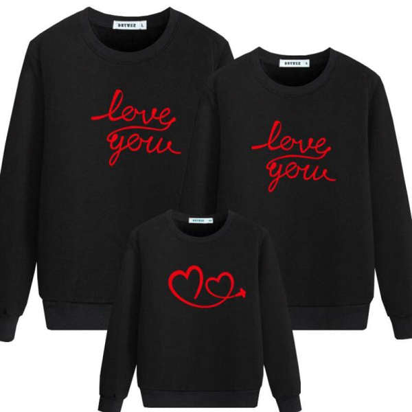 Pull Famille Assorti Love You | MJ FRANKO