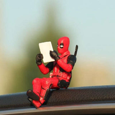 Figurine Deadpool Voiture | MJ FRANKO