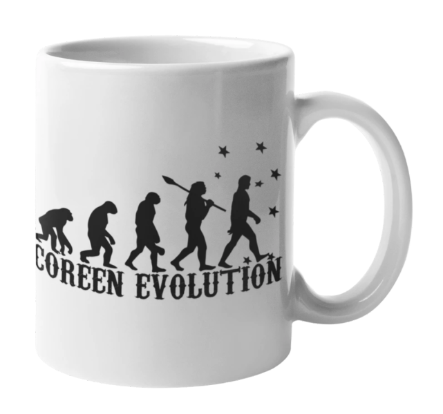 Mug Coréen Evolution | MJ FRANKO