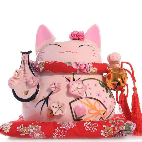 Maneki Neko Large Tirelire