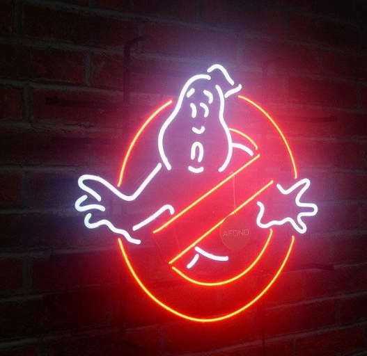 Ghostbusters Neon Sign | MJ FRANKO